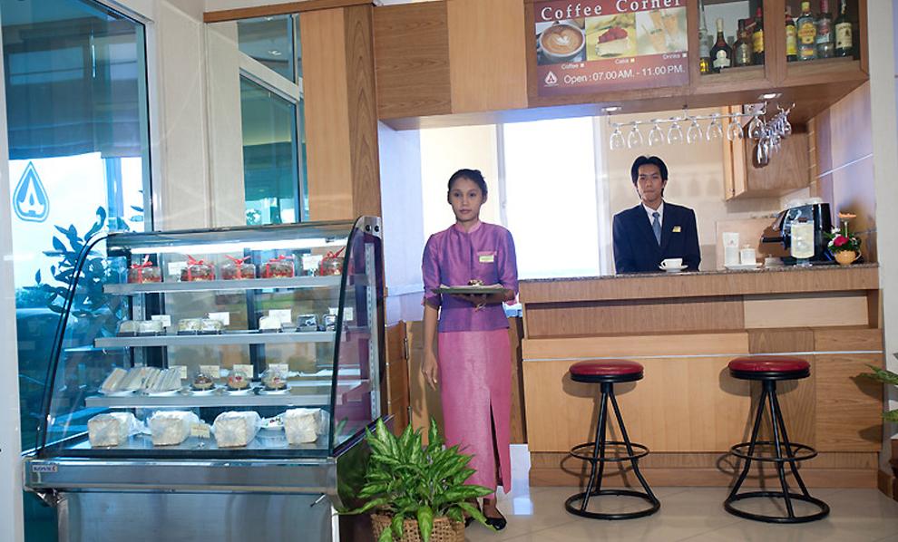 Asia Airport Hotel : Coffee Corner