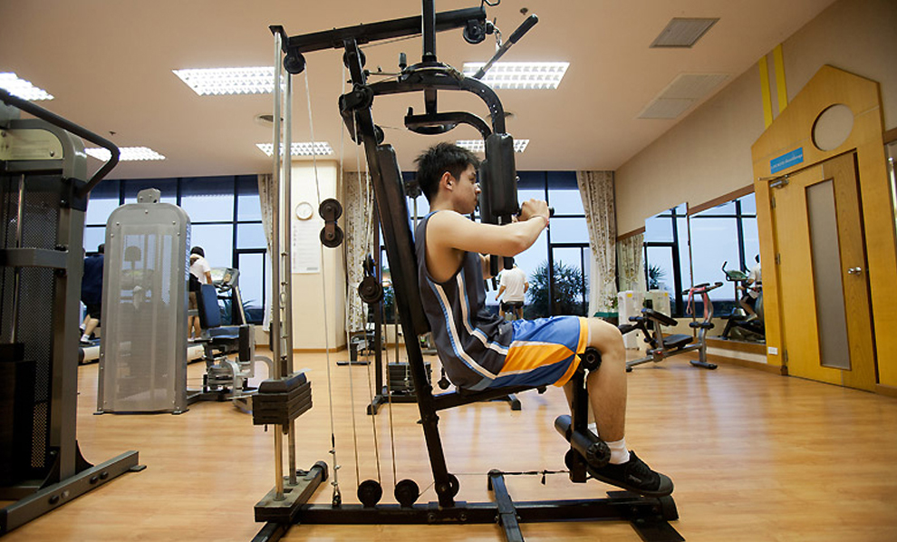 Asia Airport Hotel : Fitness Room