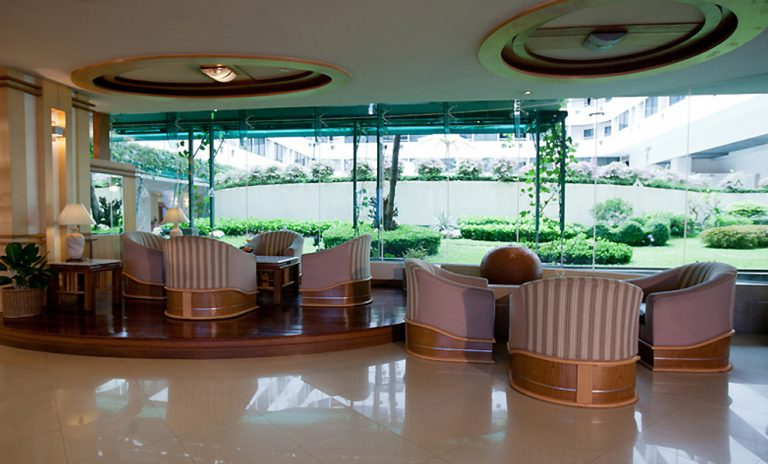 Asia Airport Hotel : Lobby