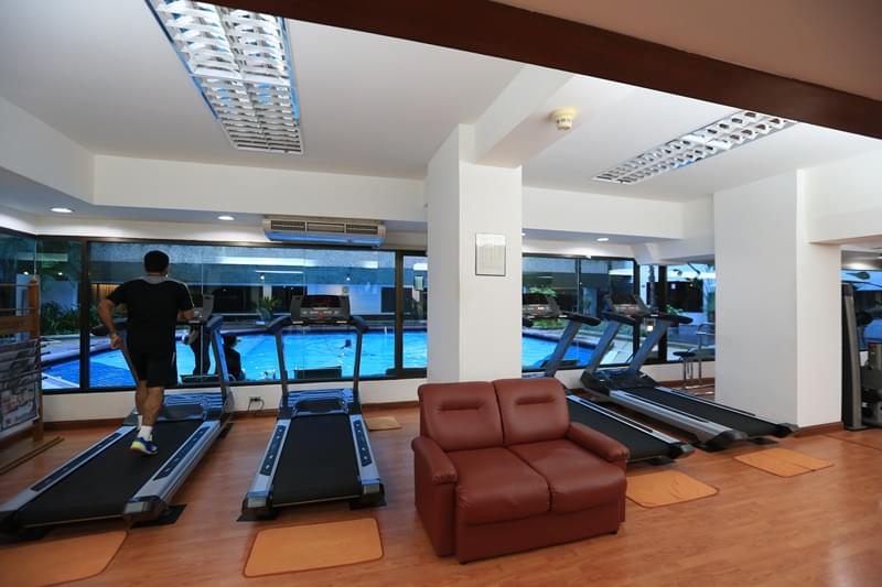 谷亚洲酒店 : 亚洲健身中心