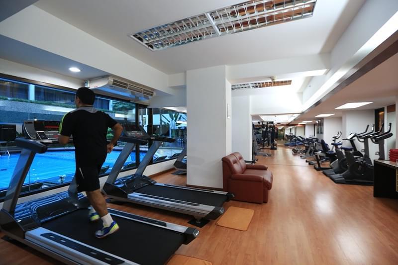 曼谷亚洲酒店 : 亚洲健身中心