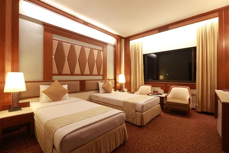 曼谷亚洲酒店 : 高级双人间