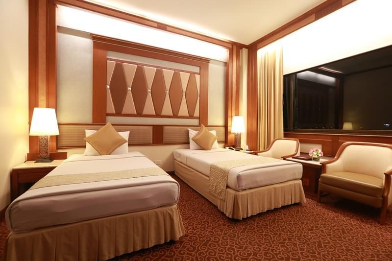 Asia Hotel Bangkok : ซูพีเรีย เตียงใหญ่หรือเตียงแฝด