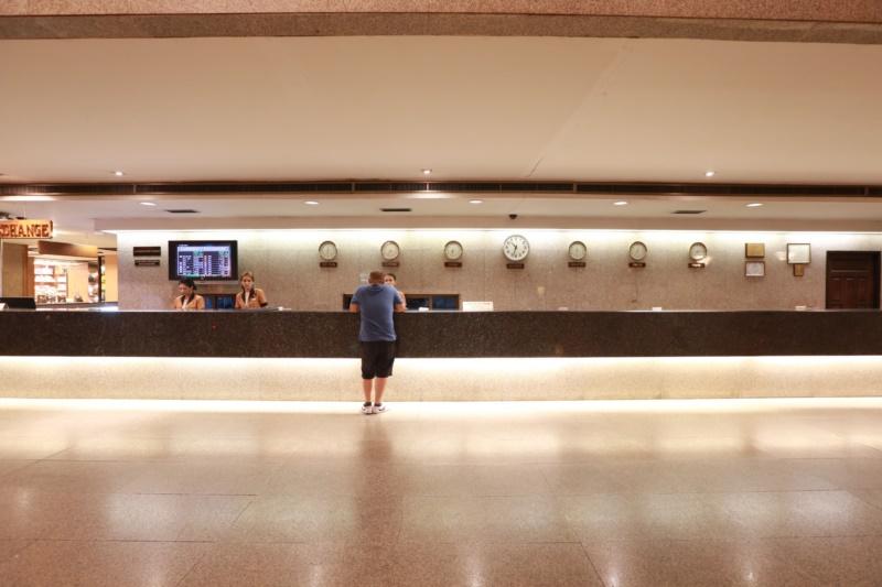 谷亚洲酒店 : 酒店大堂