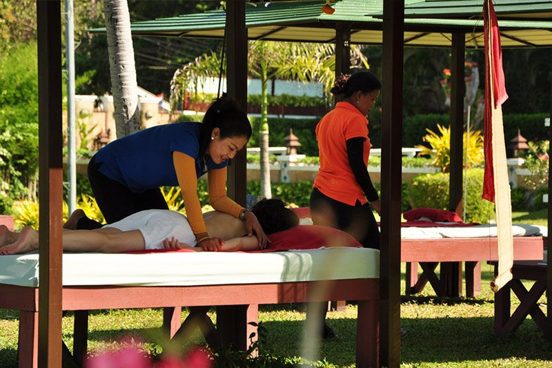 Asia Pattaya Hotel : Massage