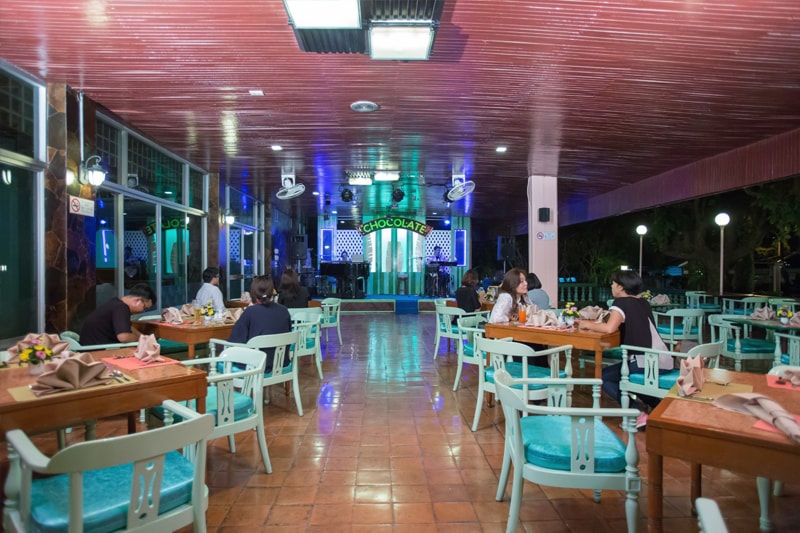 Asia Pattaya Hotel : Garden Terrace