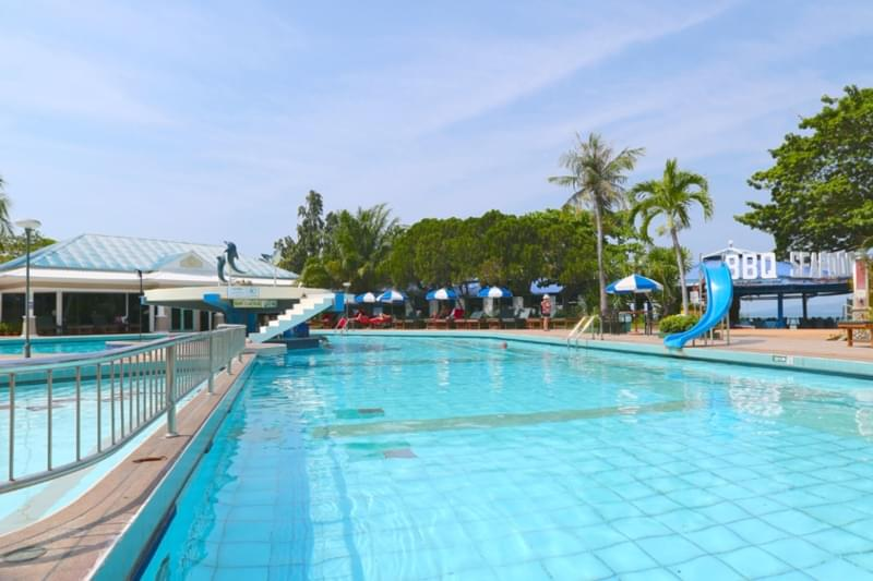 Asia Pattaya Hotel : Pool Bar