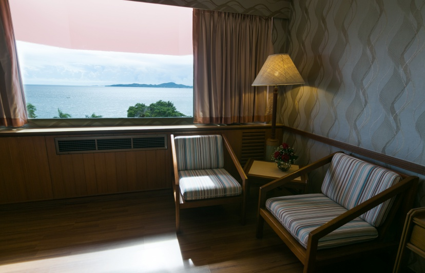 Asia Pattaya Hotel : Superior Seaview