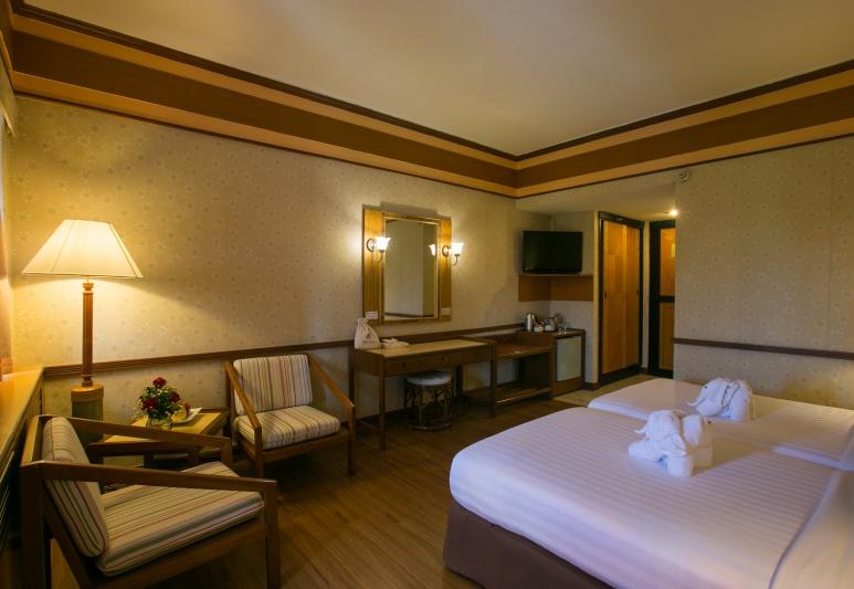 Asia Pattaya Hotel : Superior Golf view