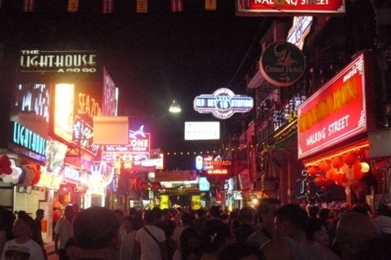 Asia Pattaya Hotel : Walking Street