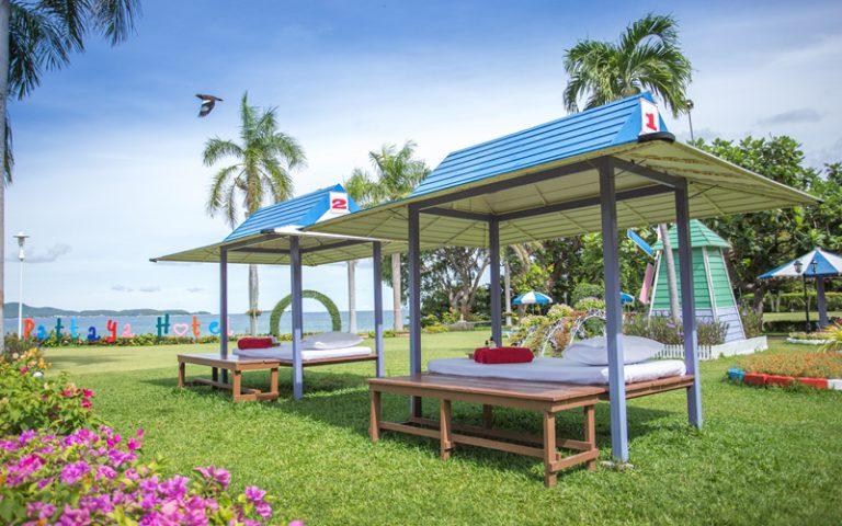 Asia Pattaya Hotel : Garden Massage
